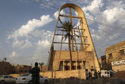 Sajjidat-al-Nadscha-Kirche in Bagdad/Irak